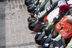NASCAR: 25. Juli-Ziegelei 400 Stockfotos