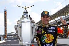 NASCAR: 25. Juli-Ziegelei 400 Lizenzfreie Stockfotografie