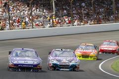 NASCAR: 25. Juli-Ziegelei 400 lizenzfreie stockbilder