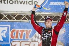 NASCAR: 26. August-Nahrungsmittelstadt 250 Lizenzfreies Stockfoto