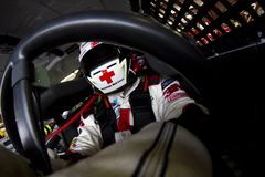 NASCAR: 26 juni LENOX Hulpmiddelen 301 Royalty-vrije Stock Afbeelding