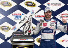 NASCAR: 27. Juni LENOX bearbeitet 301 Lizenzfreies Stockfoto