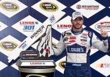 NASCAR: 27 juni LENOX Hulpmiddelen 301 Royalty-vrije Stock Foto