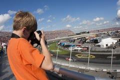 NASCAR: 27. September AAA 400 Lizenzfreies Stockbild