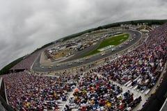 NASCAR: 28 juni Lenox Industriële Hulpmiddelen 301 Royalty-vrije Stock Foto's