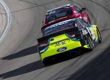 NASCAR :3月09日拉斯维加斯汽车赛车场 图库摄影