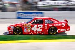 NASCAR #42 Montoya in Target Red Stock Photos