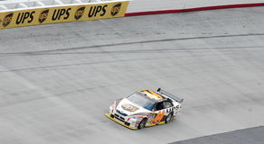 NASCAR. Dale Jarrett racing at bristol Tn on march 16th 2008. This was Jarretts very last points paying race Stock Image