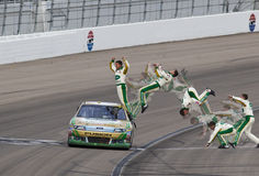 NASCAR: 6. März Kobalt bearbeitet 400 Stockfotografie