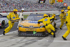 NASCAR : 6 septembre Advocare 500 Photo libre de droits