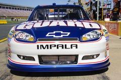 NASCAR - #88 Chevy des Taljrs Impala-Fahrt Stockbild