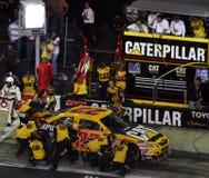 NASCAR - Ação de Crewin do poço de Blaney Fotografia de Stock