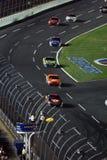NASCAR - Achtung-Markierungsfahne ist heraus Lizenzfreies Stockfoto