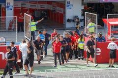 2013 NASCAR AdvoCare 500 het ras van de Sprintkop bij het Internationale Toevoerkanaal van Phoenix Stock Foto's