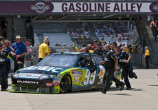 NASCAR:  Aflac Ford Allstate 400 at the Brickyard Stock Images