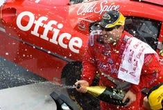 NASCAR: Agosto 10 Heluva bom! no vale Fotografia de Stock