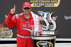 NASCAR: Agosto 10 Heluva bom! no vale do vale Imagem de Stock Royalty Free