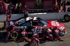 NASCAR: Ajuste fresco 500 do metro fevereiro de 27 Foto de Stock Royalty Free