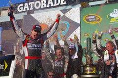 NASCAR: Ajuste fresco 500 do metro fevereiro de 27 Fotografia de Stock