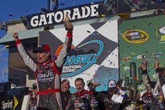 NASCAR : Ajustement frais 500 de souterrain du 27 février Photo stock