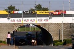 NASCAR - Al revés Foto de archivo libre de regalías