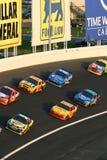 NASCAR - alternadamente 3 ocupados Imágenes de archivo libres de regalías