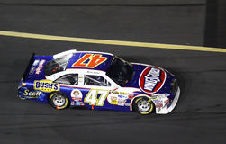 NASCAR -  Ambrose at Charlotte Motor Speedway Royalty Free Stock Photo