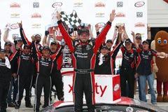 NASCAR : 27 août Johnsonville 180 Images libres de droits
