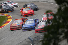 NASCAR : 27 août Johnsonville 180 Images stock
