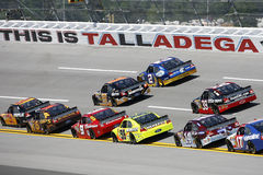 NASCAR:  Apr 23 Aaron's 499 Royalty Free Stock Image