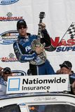 NASCAR: Apr 23 Carl Edwards (60). LEBANON, TN - APR 23, 2011: Carl Edwards (60) wins the Nashville 300 race at the Nashville Superspeedway in Lebanon, TN royalty free stock photos