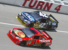 NASCAR:  Apr 25 Aaron's 499 Royalty Free Stock Photo