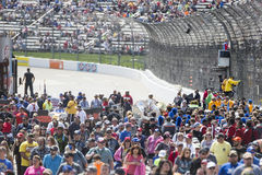NASCAR:  Apr 02 STP 500. April 02, 2017 - Martinsville, Virginia, USA:  Fans crowd into the Martinsville Speedway to see the STP 500 in Martinsville, Virginia Stock Photography