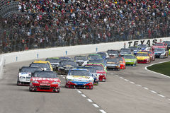 NASCAR:  April 19 Samsung Mobile 500 Stock Photos