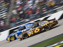 NASCAR:  April 19 Samsung Mobile 500 Stock Images