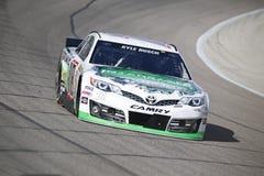 NASCAR:  April 04 Duck Commander 500 Royaltyfria Foton