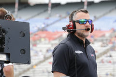 NASCAR: 08 april Duck Commander 500 Stock Foto's