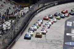 NASCAR: 14 april Fitzgerald-Zweefvliegtuiguitrustingen 300 Royalty-vrije Stock Foto