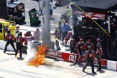 NASCAR: 14 april Fitzgerald-Zweefvliegtuiguitrustingen 300 Royalty-vrije Stock Fotografie