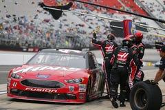 NASCAR: April 15 matstad 500 Arkivfoto