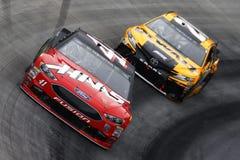 NASCAR: April 15 matstad 500 Arkivbild
