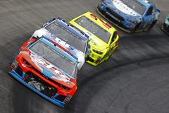 NASCAR: April 16 matstad 500 Royaltyfri Bild
