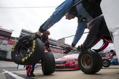 NASCAR: April 16 matstad 500 Arkivbilder