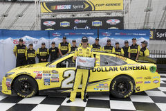 NASCAR: April 17 matstad 500 Royaltyfria Bilder