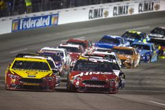 NASCAR: April 21 Toyota ägare 400 Arkivbilder