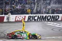 NASCAR: April 21 Toyota ägare 400 Royaltyfria Bilder