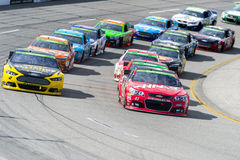 NASCAR: April 26 Toyota ägare 400 Royaltyfria Foton