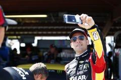 NASCAR: April 28 Toyota ägare 400 Fotografering för Bildbyråer