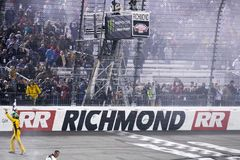NASCAR: 21 april Toyota-Eigenaars 400 Royalty-vrije Stock Foto's
