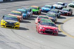 NASCAR: 26 april Toyota-Eigenaars 400 royalty-vrije stock foto's